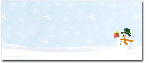 Snowman Gift Holiday #10 Envelopes