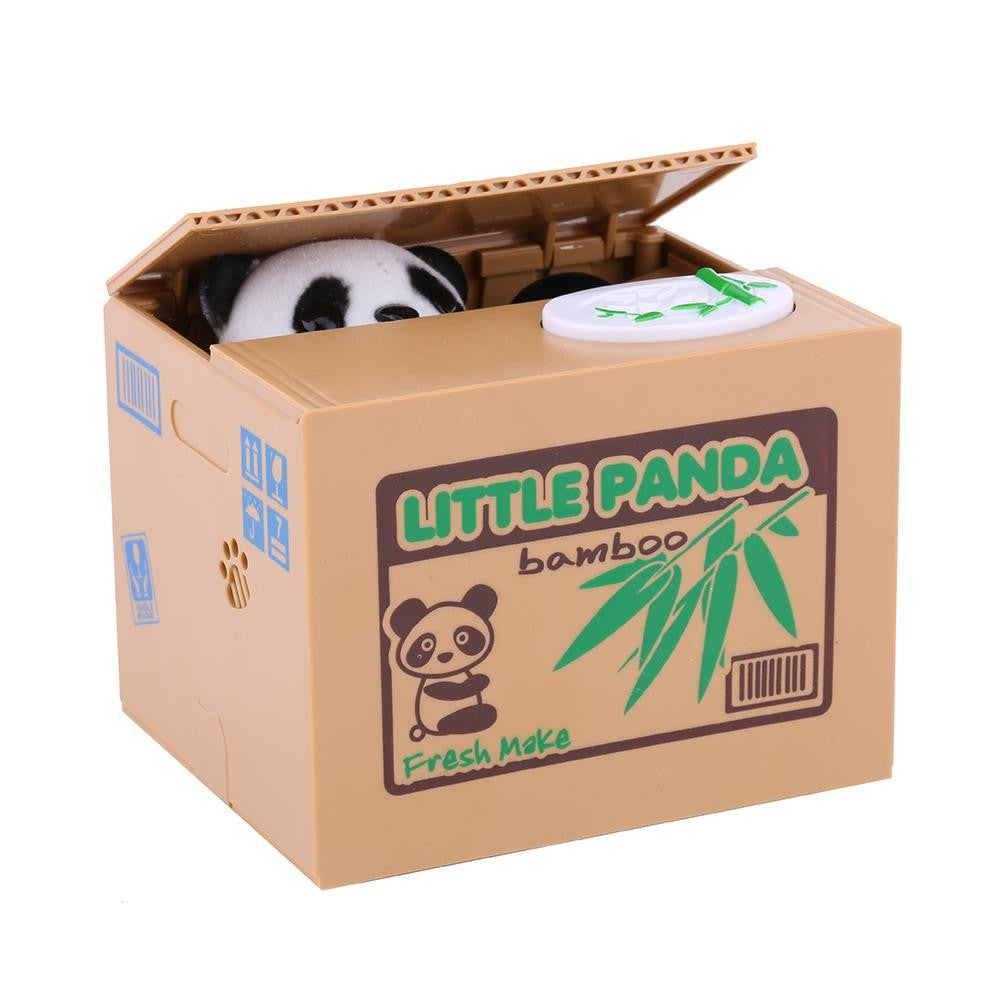 Automatic Coin Stealing Panda Bank