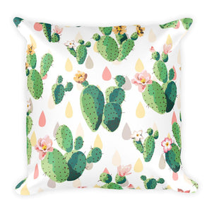 Cactus Pillow-Give Crazy