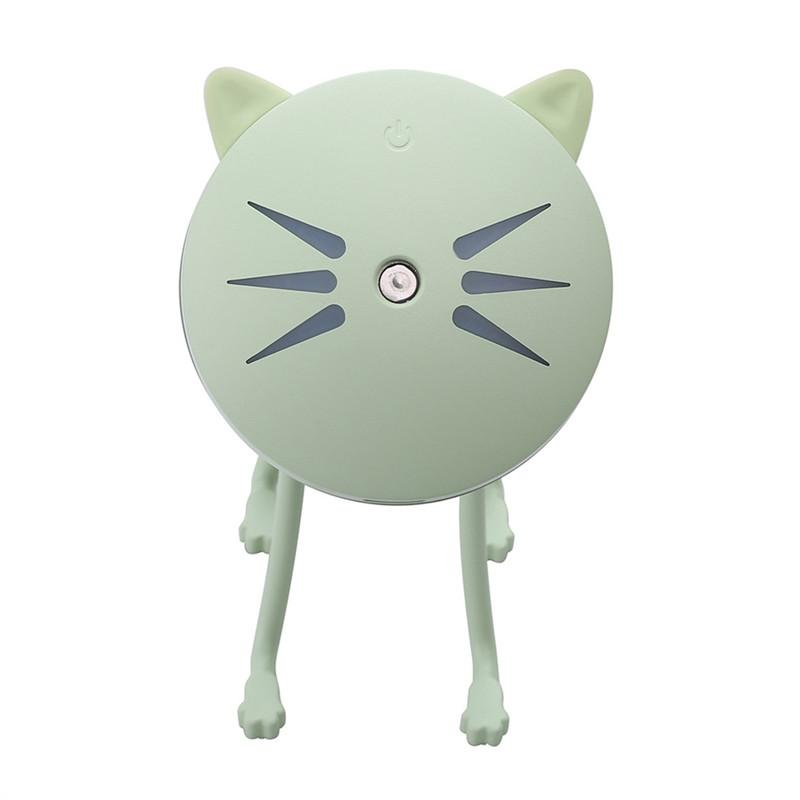 Cat Shaped Mini Ultrasonic Mist Aroma Humidifier-Give Crazy