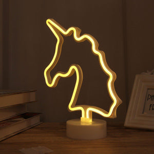 LED Unicorn Light-Give Crazy