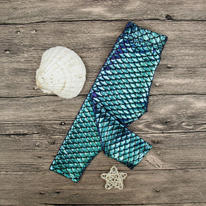 Mermaid Scale Leggings For Baby / Toddler