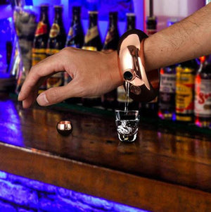 Stainless Steel Flask Bracelet-Give Crazy