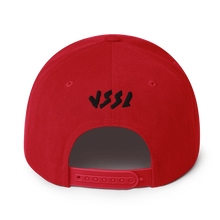 Load image into Gallery viewer, Witchy Cat Embroidered Snapback