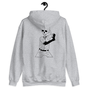 Batter Up Unisex Hoodie Front and Back Print