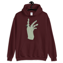 Load image into Gallery viewer, Unravelled Hand Unisex Hoodie