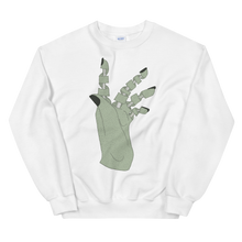 Load image into Gallery viewer, Unravelled Hand Unisex Sweatshirt