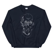 Load image into Gallery viewer, Exploded Skull Unisex Sweatshirt