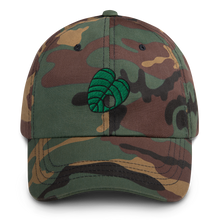 Load image into Gallery viewer, Crook Leaf Embroidered Dad Hat