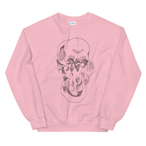 Exploded Skull Unisex Sweatshirt