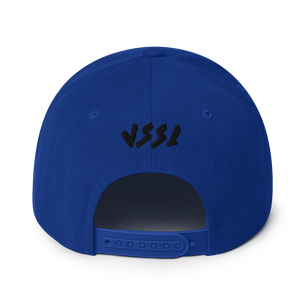 Witchy Cat Embroidered Snapback