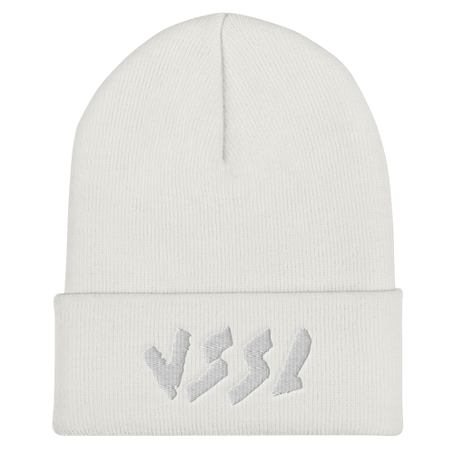 Logo Embroidered Cuffed Beanie