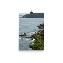 Load image into Gallery viewer, Acadia Waterfront Matte Print