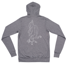 "Load image into Gallery viewer, ""Sprrw"" Unisex Zip Hoodie"