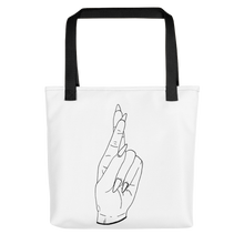 Load image into Gallery viewer, Secrets (Black Outline) Tote bag