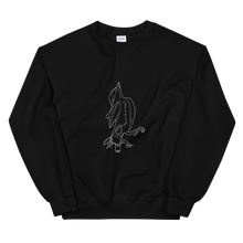"Load image into Gallery viewer, ""Sprrw"" Unisex Sweatshirt Front Print"