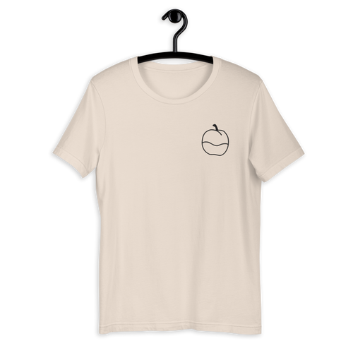 Apple Embroidered Unisex T-Shirt