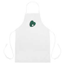 Load image into Gallery viewer, Crook Leaf Embroidered Apron