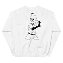 Load image into Gallery viewer, Batter Up Unisex Sweatshirt Front and Back Print