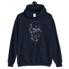 Load image into Gallery viewer, Exploded Skull Unisex Hoodie