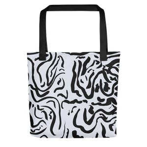 Curved Automatic Drawing Tote Bag