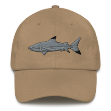 Load image into Gallery viewer, Blacktip Shark Embroidered Dad Hat
