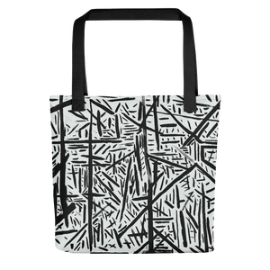 Straight Automatic Drawing Tote Bag