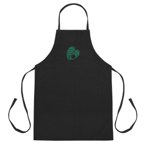 Crook Leaf Embroidered Apron