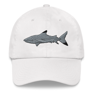 Blacktip Shark Embroidered Dad Hat