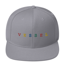 Load image into Gallery viewer, Rainbow Embroidered Snapback
