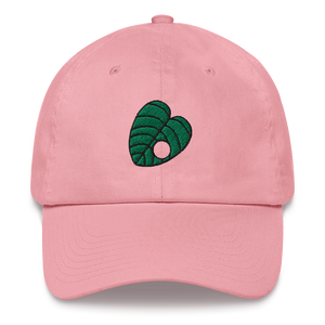 Crook Leaf Embroidered Dad Hat