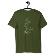 "Load image into Gallery viewer, ""Sprrw"" Unisex T-Shirt Back Print"