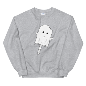 Popsicle Ghost Unisex Sweatshirt