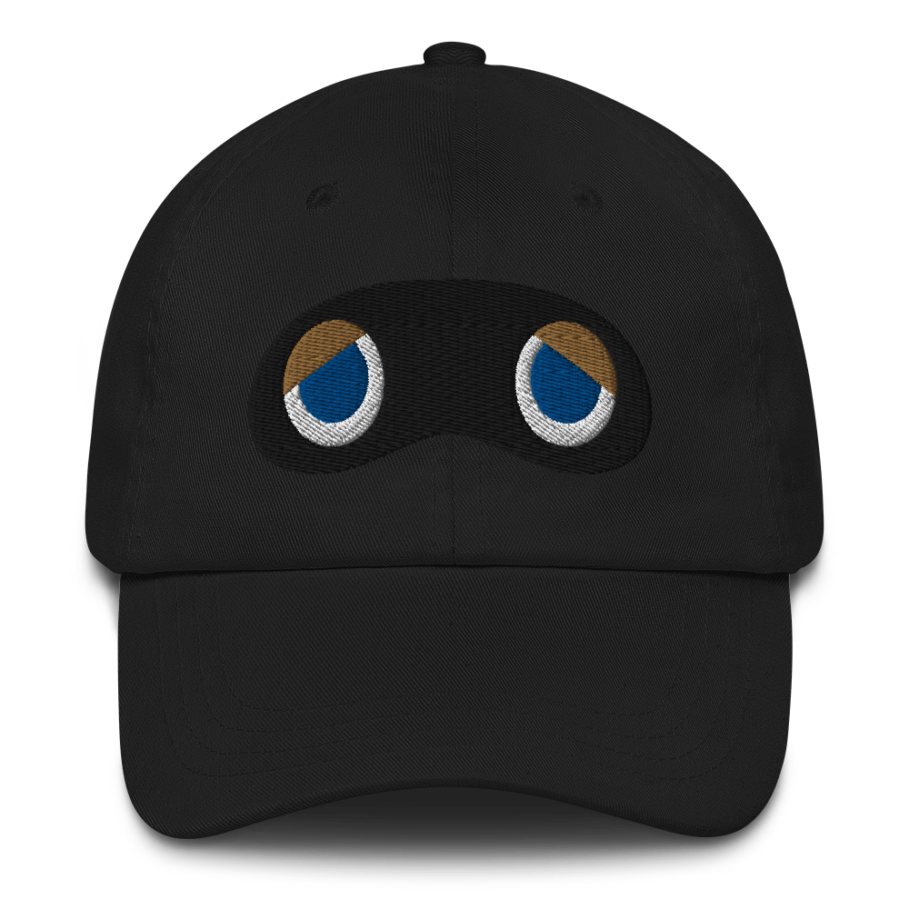 Crook's Eyes Embroidered Dad Hat