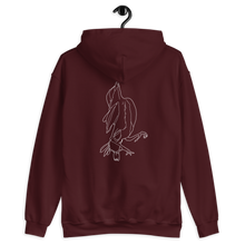 "Load image into Gallery viewer, ""Sprrw"" Unisex Hoodie Back Print"