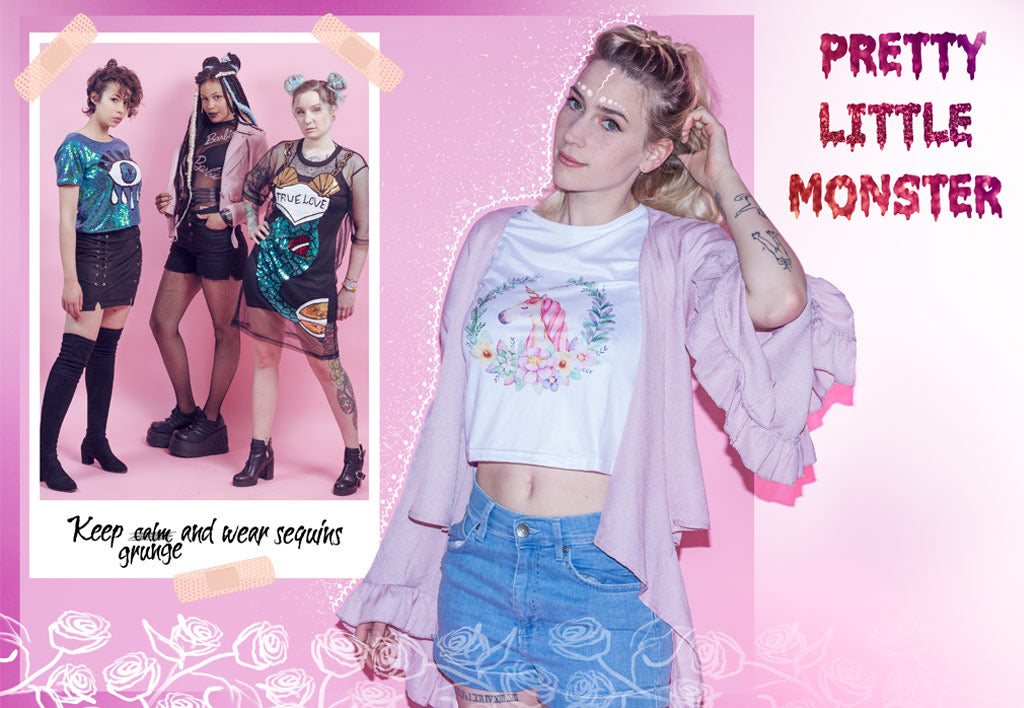 lookbook créateur mode kawaii alternative gothique