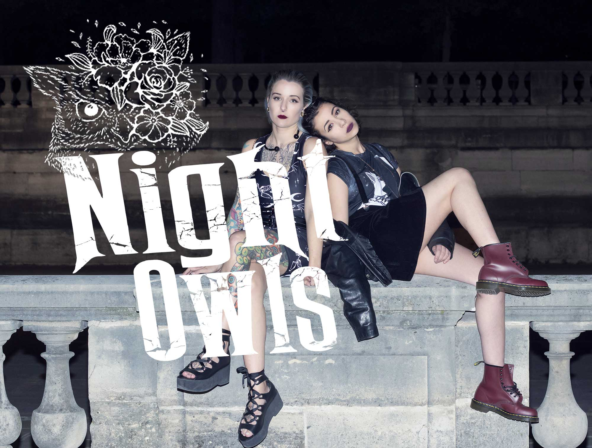 night owls designer fashion mrs.freaks lookbook spring summer 2019