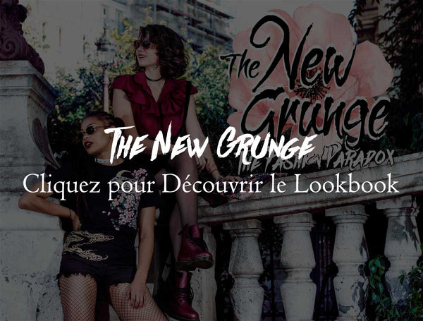 lookbook rock grunge mo femme gothique pastel alternative