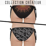 Bikini reversible motif dark witch corbeaux et soleil - Maillots de bain - THE FASHION PARADOX