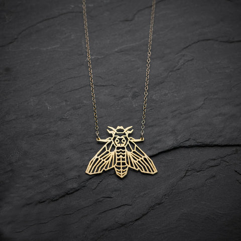 Collier papillon de nuit - BIJOUX - THE FASHION PARADOX