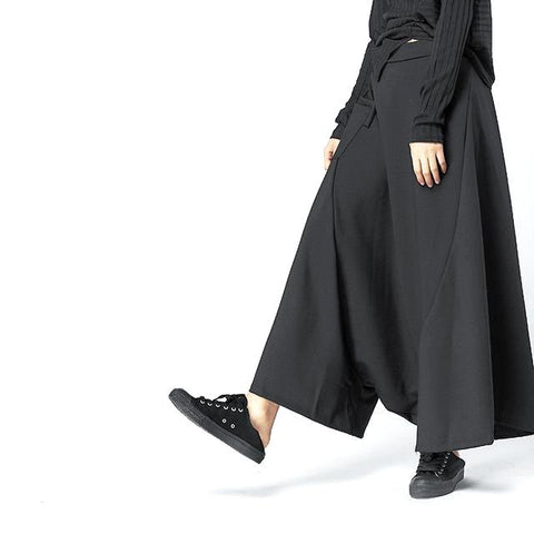 Pantalon large style Sarouel effet loose - Pantalons - THE FASHION PARADOX