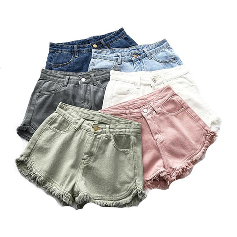 Mini Short Style Denim Déchiré - Shorts - THE FASHION PARADOX