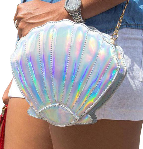 Sac holographique coquillage - Accessoires - THE FASHION PARADOX
