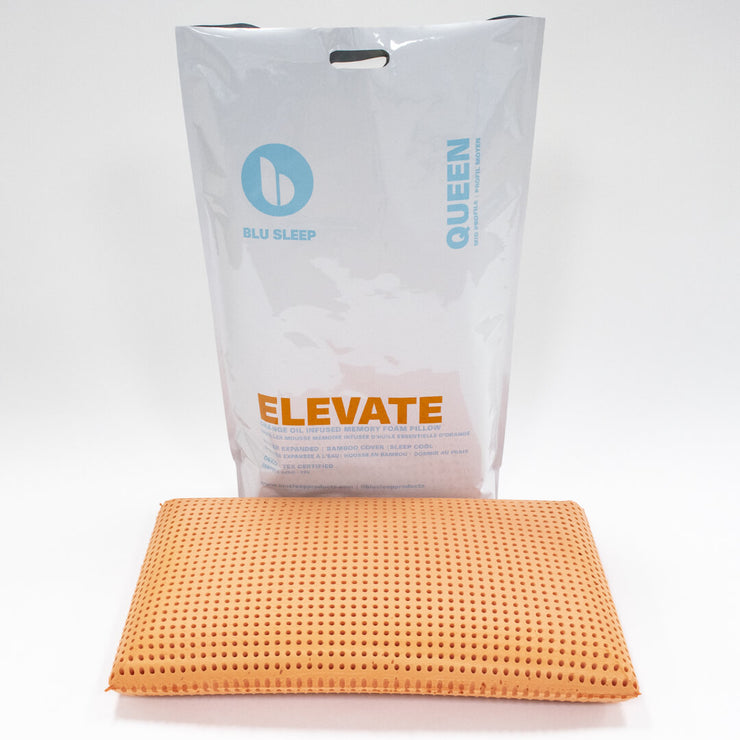 Elevate 7 with packaging and pillow
