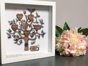 Personalise Family Tree Frame Bee Free Prints