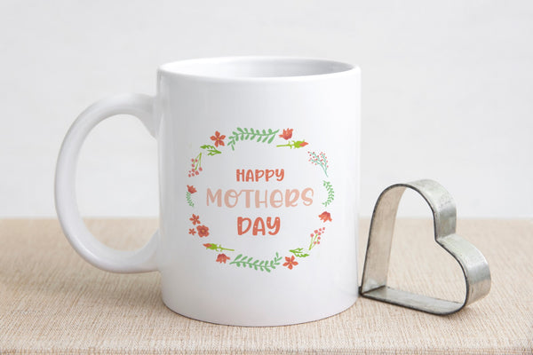 Happy Mother's Day Mug White MugBee Free Prints