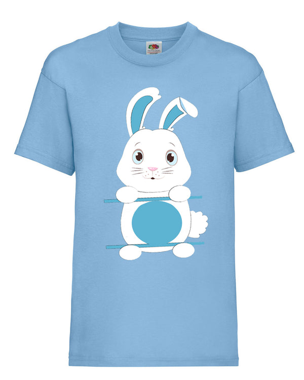 Personalised Kid's Easter Bunny T-Shirt