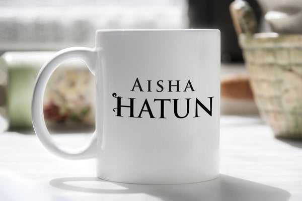 Personalised Resurrection Ertugrul Bey Hatun Mugs Bee Free Prints