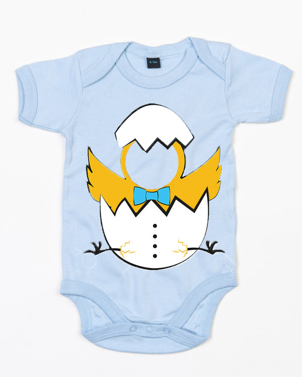 Personalised Baby Easter Egg Bodysuit (Chicks)
