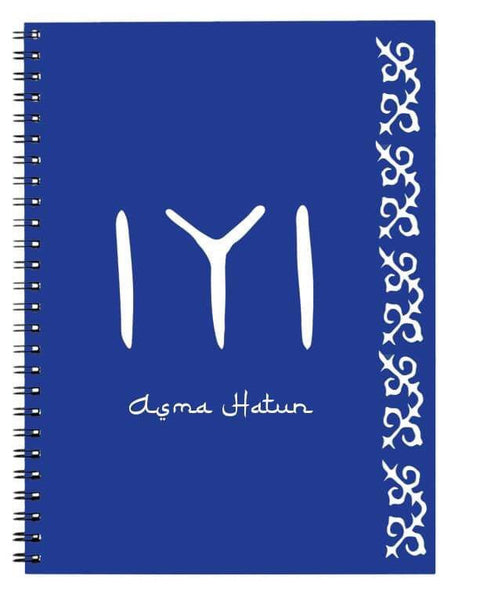 Personalised Ertugrul theme Kayi logo A5 Binder notebook Eid Gifts Bee Free Prints